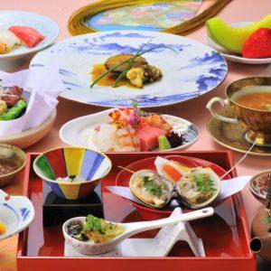 和食仲むら婚礼会席¥15,000(税別)一例