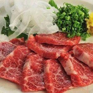 和食仲むら-郷土料理(馬刺)