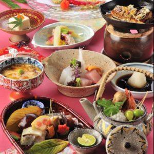 和食仲むら秋の料理一例