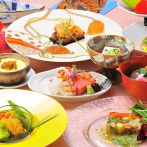 和食仲むら婚礼会席¥10,000(税別)一例