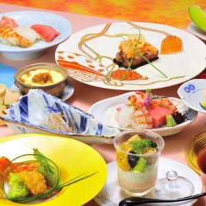 和食仲むら婚礼会席¥12,000(税別)一例