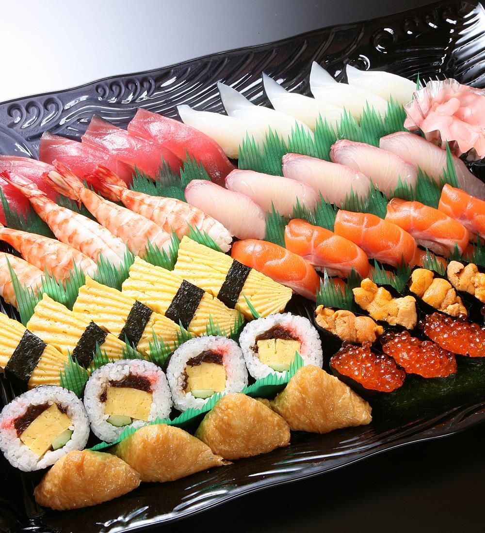 お正月三点セット寿司