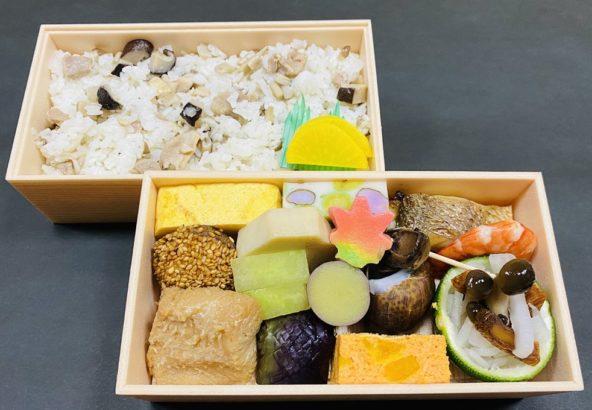 10月の弁当 赤とんぼ¥1,620(税込)
